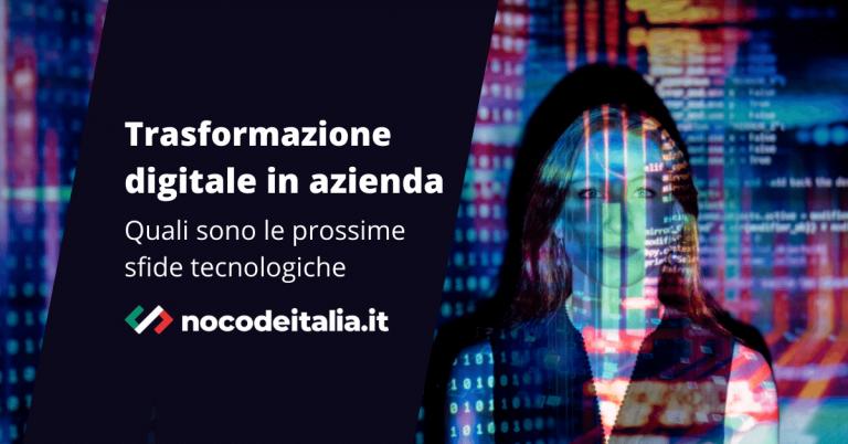 trasformazione digitale aziendale nocode lowcode